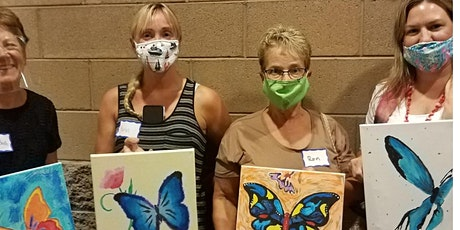 Butterfly Wonderland Brushstrokes Painting Class tickets