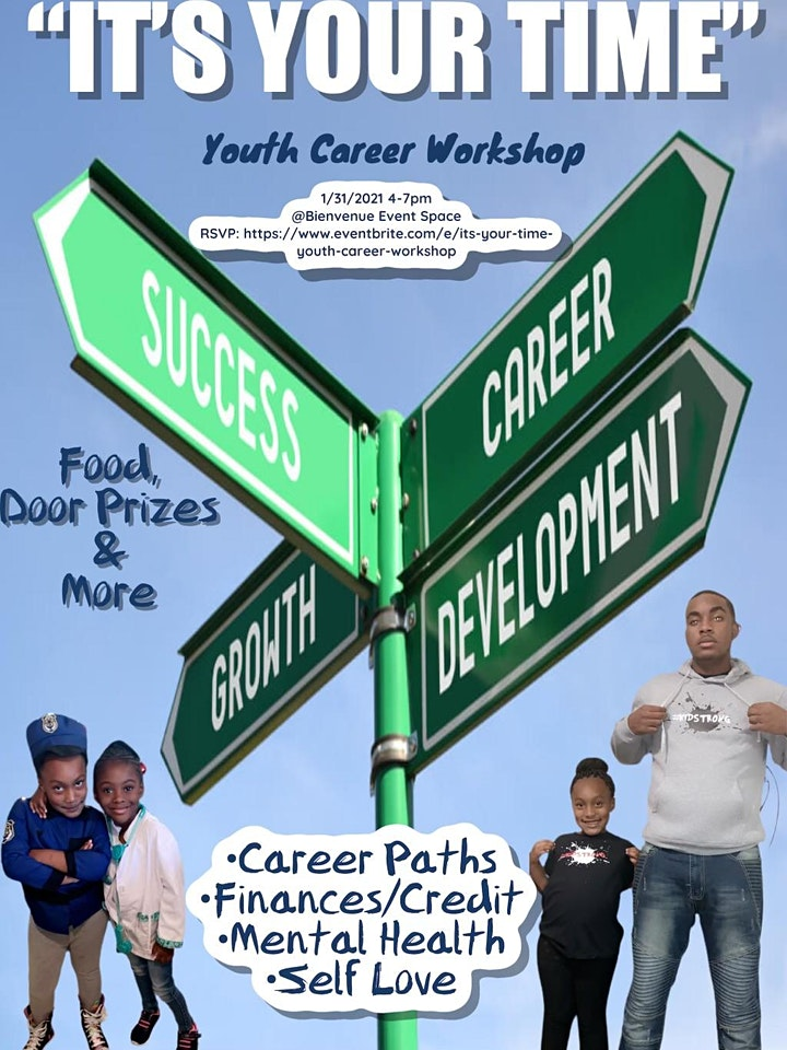 """""""It's Your Time"""": Youth Career Workshop image"""