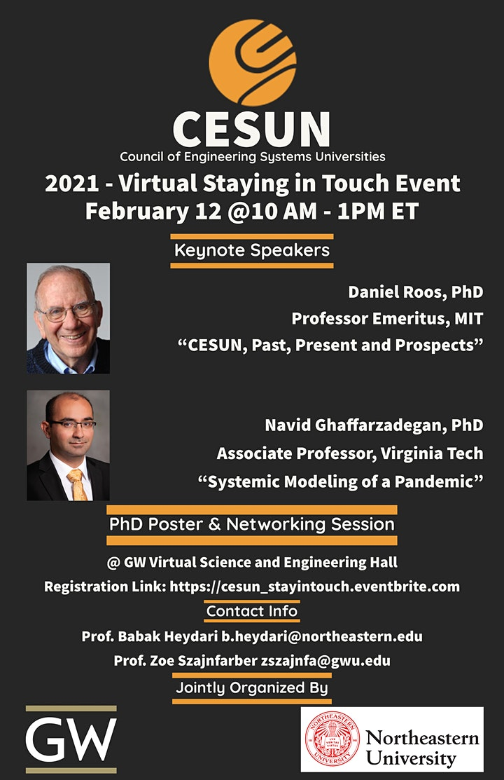 CESUN 2021 - Virtual Staying in Touch Event image