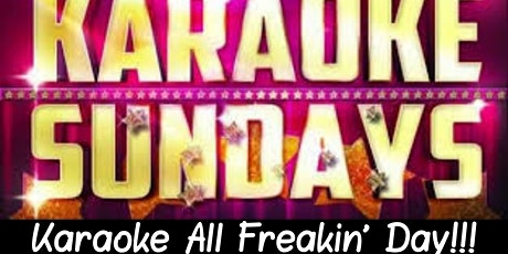 Karaoke ALL DAY - Happy Hour - Bloody & Mimosas - NFL - 80's - Potluck tickets
