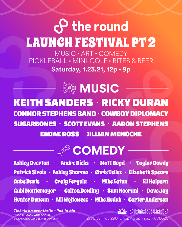 THE ROUND'S LAUNCH FESTIVAL PART 2 image