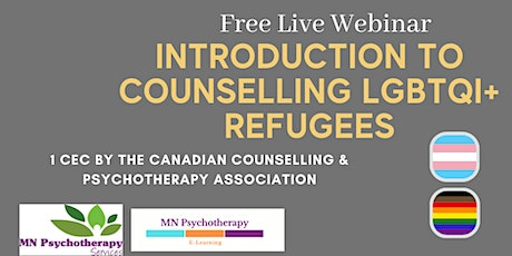 Introduction to Counselling LGBTQI+ Refugees tickets