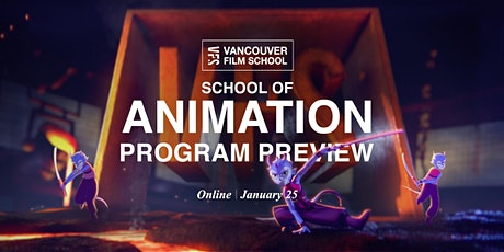 VFS School of Animation Program Preview tickets