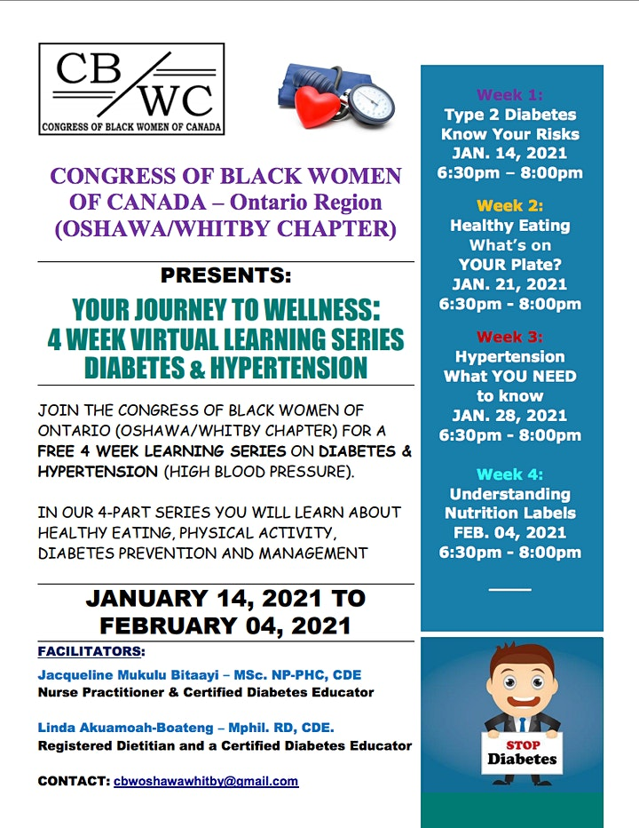 Journey To Wellness - Diabetes & Hypertension Learning Series image