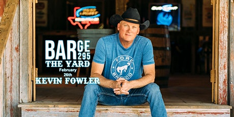Kevin Fowler at BARge295 tickets