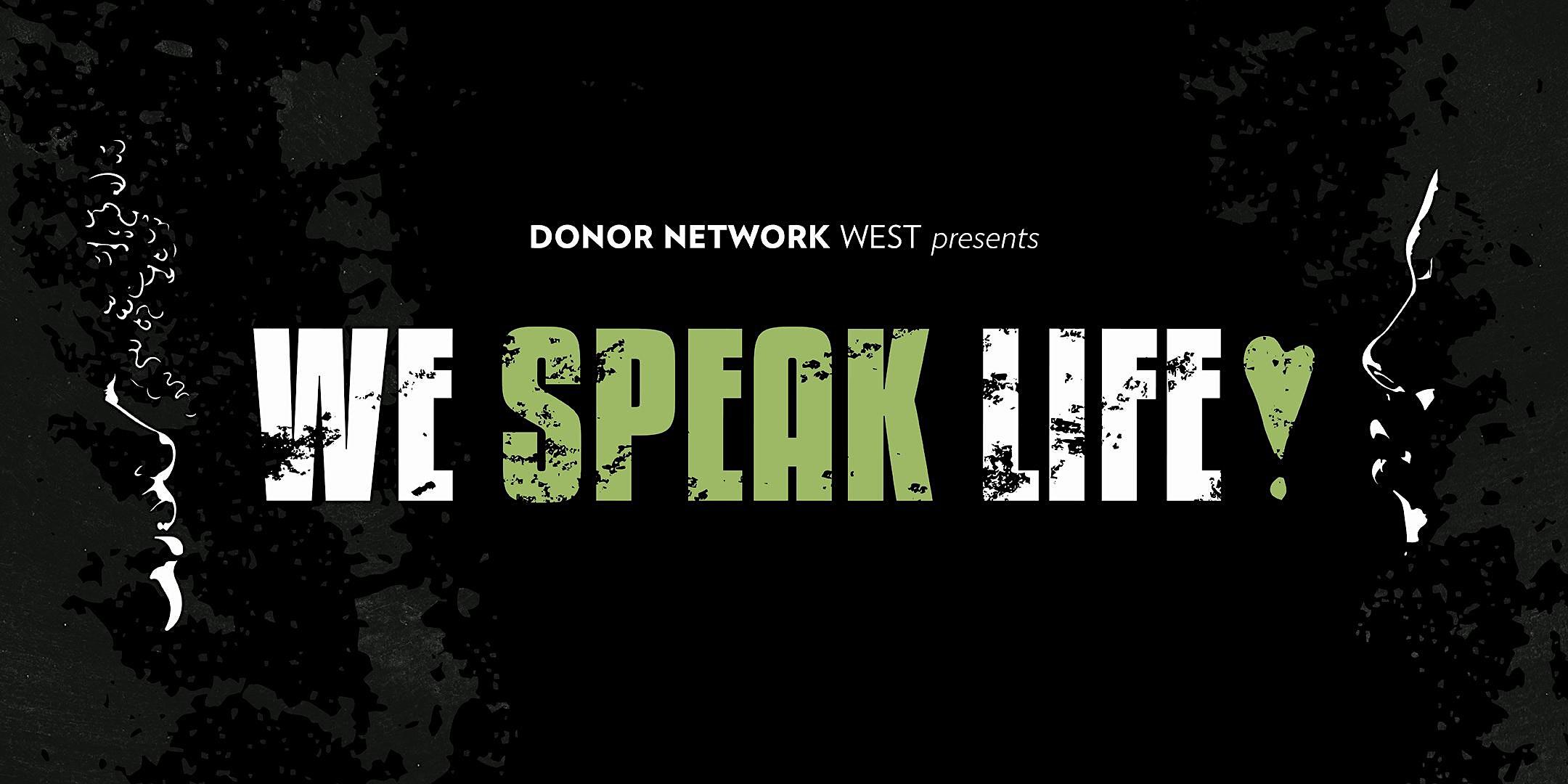 We Speak Life Virtual Premiere