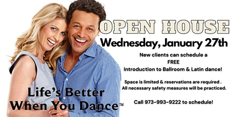 Free Dance Lesson Day at Fred Astaire Morristown tickets