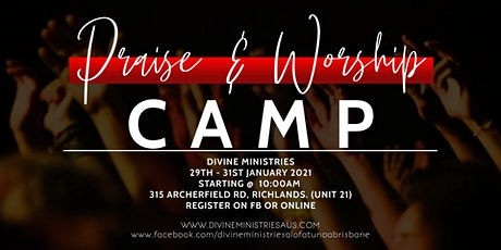 PRAISE & WORSHIP CAMP 2021 tickets