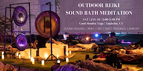 Outdoor Reiki Sound Bath Meditation (Central OC) tickets