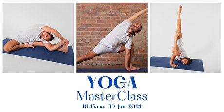Yoga Masterclass With Julien tickets