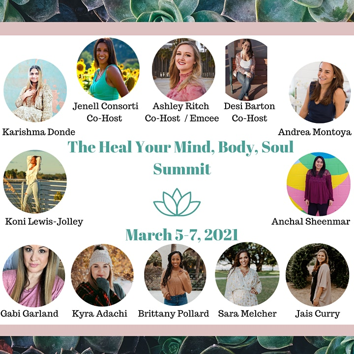 Heal Your Mind, Body, Soul Summit image