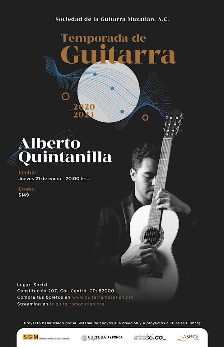 Imagen de Alberto Quintanilla - Temporada de Guitarra