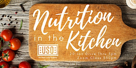 Nutrition in the Kitchen tickets
