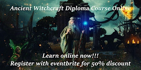 ANCIENT WITCHCRAFT DIPLOMA COURSE tickets