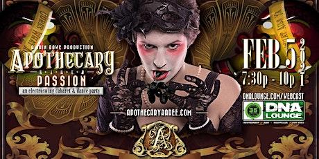 Apothecary Raree: Passion! tickets