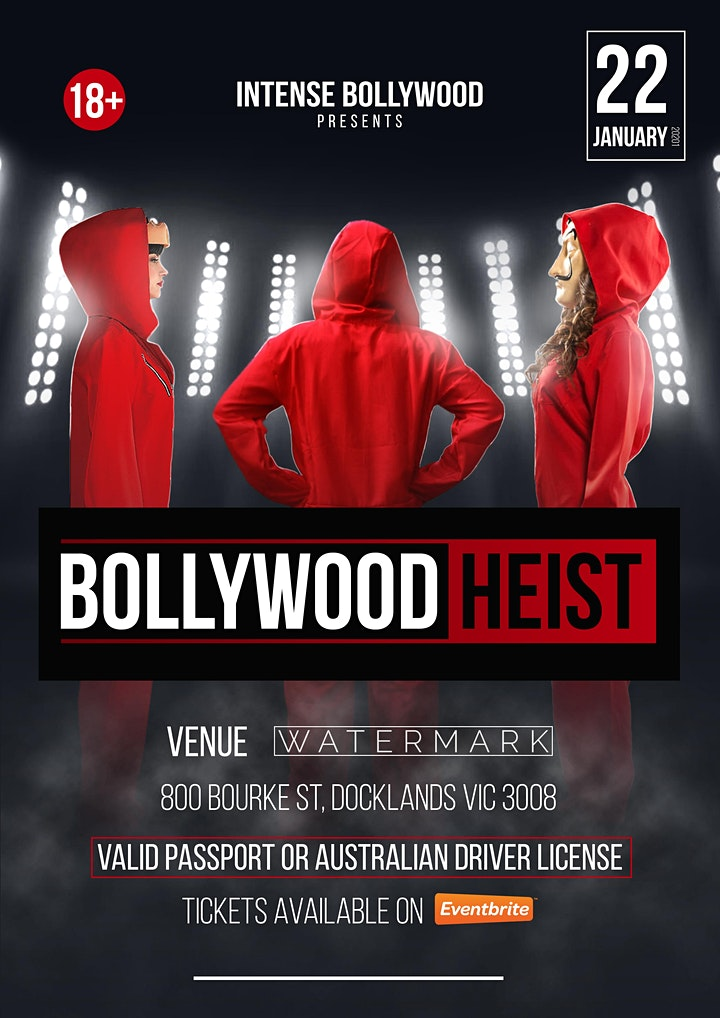 Bollywood Heist by Intense Bollywood image