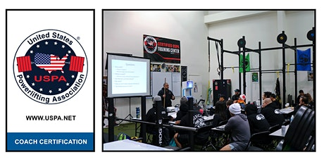 California/ Garden Grove- USPA Coach Certification tickets