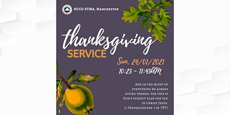 Sunday Service (Youths Thanksgiving) tickets