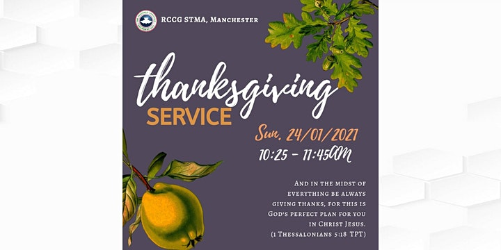 Sunday Service (Youths Thanksgiving) image