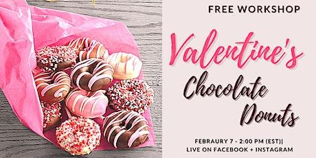 Valentine's Chocolate Donuts - Free Workshop tickets
