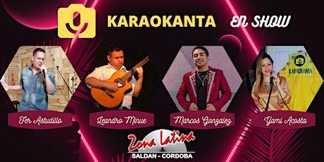 Karaokanta En Show - Zona Latina 16/01 entradas
