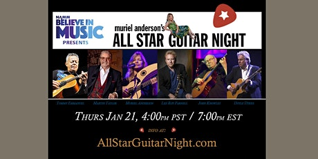 Muriel Anderson's All Star Guitar Night 2021, w. Friends of Chet Atkins tickets