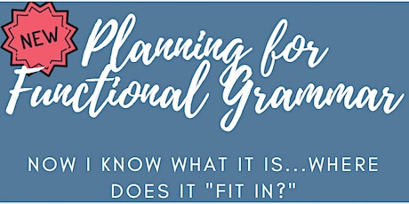 Planning for Functional Grammar tickets