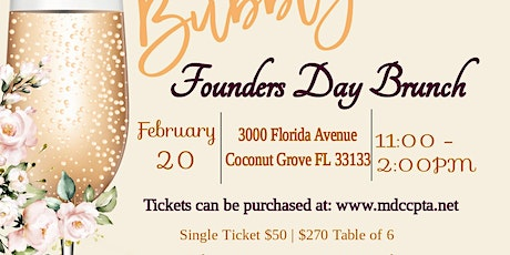 Founders Day Brunch tickets
