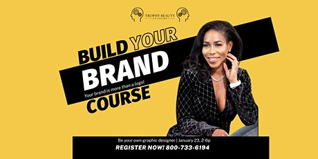 Build Your Brand Course (Graphic Design) tickets