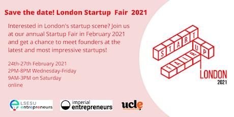 London Startup Fair 2021 tickets