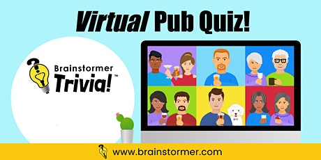 VIRTUAL Pub Quiz, JANUARY 22, 2021 tickets