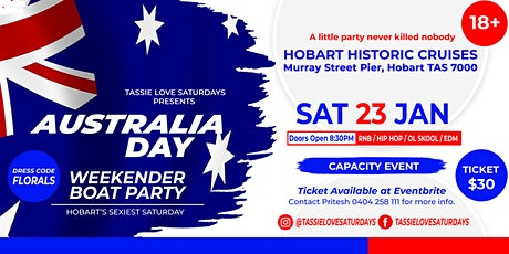 Australia Day Weekender || BOAT PARTY tickets