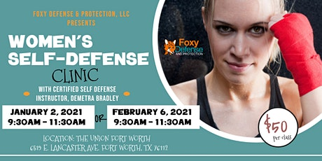 Fight Like a Girl Women's Self Defense Clinic tickets