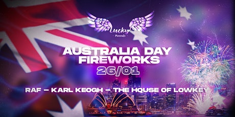 Boat Party // Lucky Presents // Australia Day Fireworks tickets