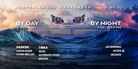 Boat Party // Lucky Presents // Australia Day Weekend 'Day & Night' tickets
