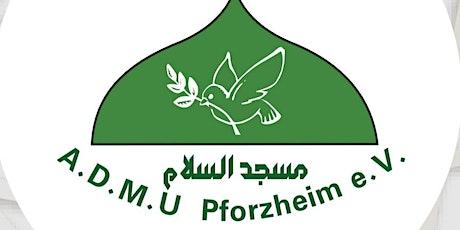 Freitagsgebet 15.01.2021 (Männer) - Salam Moschee in Pforzheim Tickets