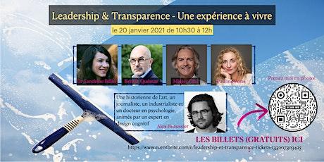 Leadership et Transparence billets