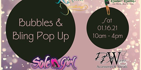 Bubbles & Bling Pop Up tickets