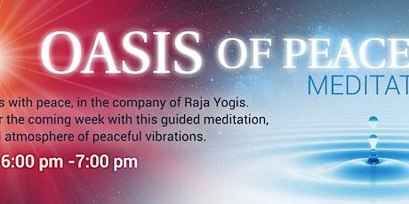Oasis of Peace Meditation billets