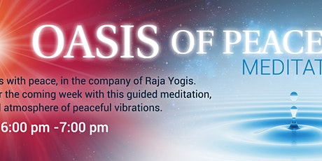 Oasis of Peace Meditation ingressos
