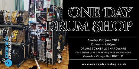 One Day Drum Shop tickets