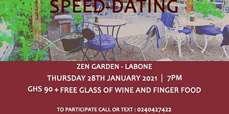 Professionals Speed Dating tickets