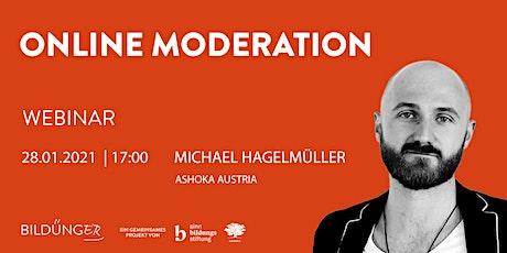 Webinar: Online Moderation Tickets