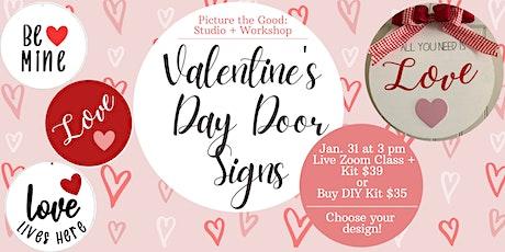 Valentine's Day Door Signs tickets