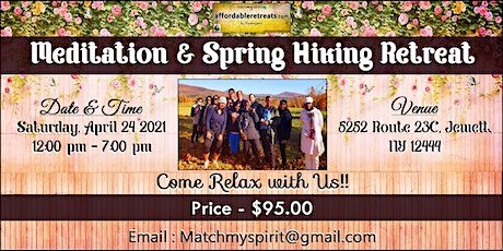 Meditation & Spring Hiking Retreat tickets