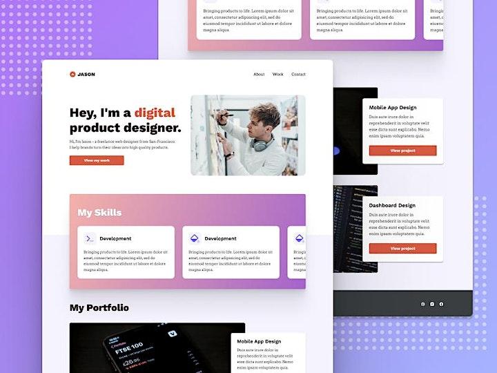 Kickstart UX: Design Your First Website image