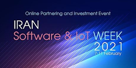 Iran Software and IoT Partnering and Investment Week tickets