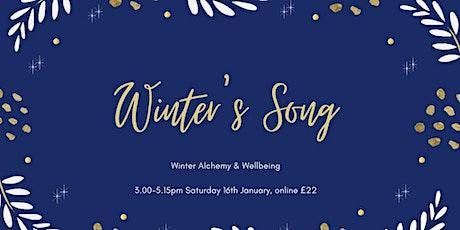Winter's Song - an online winter wellness workshop tickets