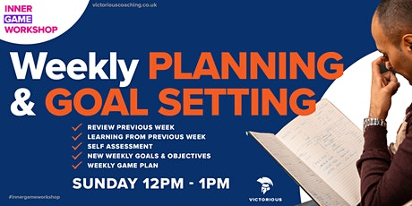 Weekly Review, Goal Setting & Planning tickets
