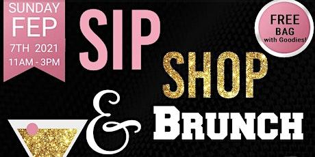 Sip, Shop, & Brunch tickets
